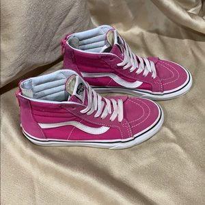 Vans Sk8-Hi Kids Very Berry Size 1.5